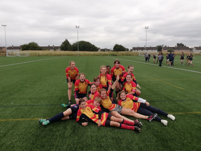 West Girls Thrive at Clydebank Festival