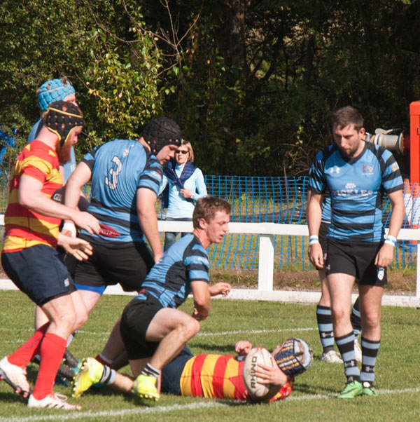 Vital win for West 1st XV
